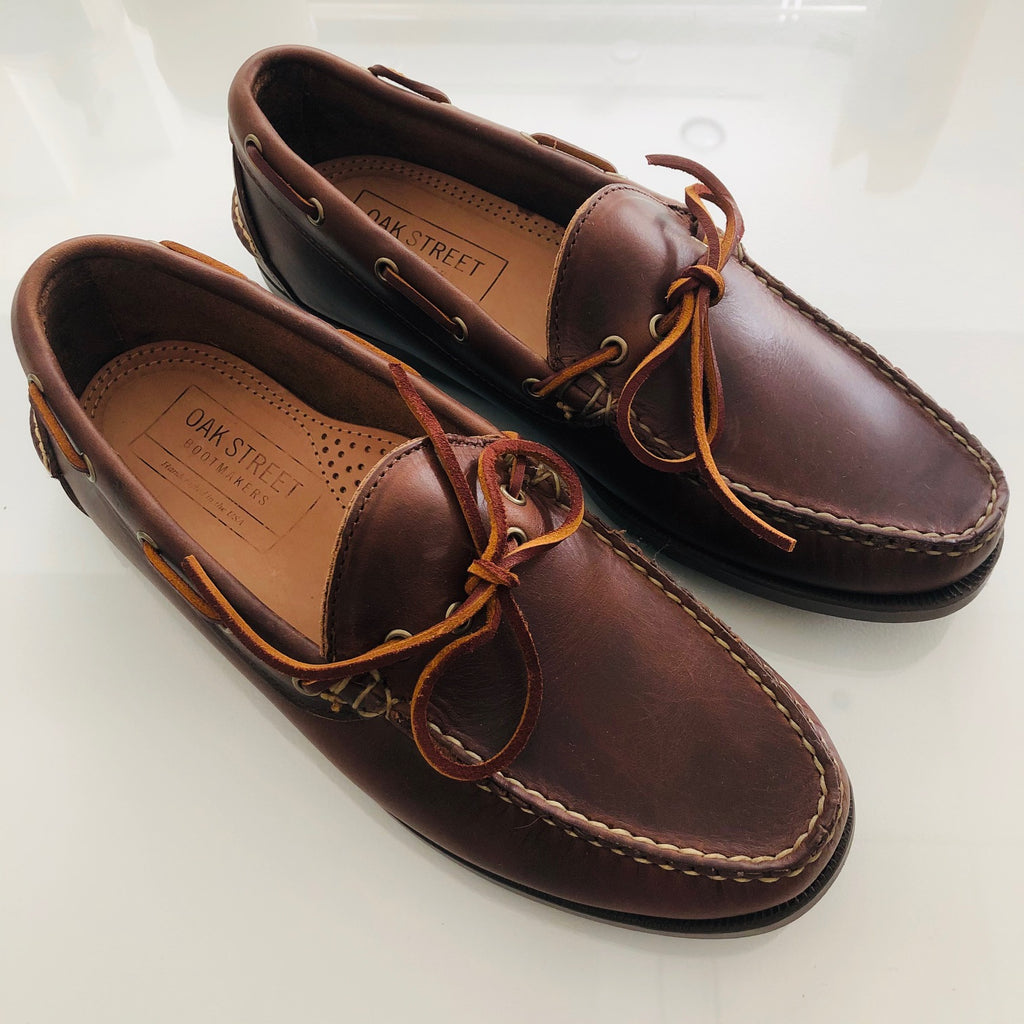 Oak St. Boot Makers Brown Chromexcel Camp Moc