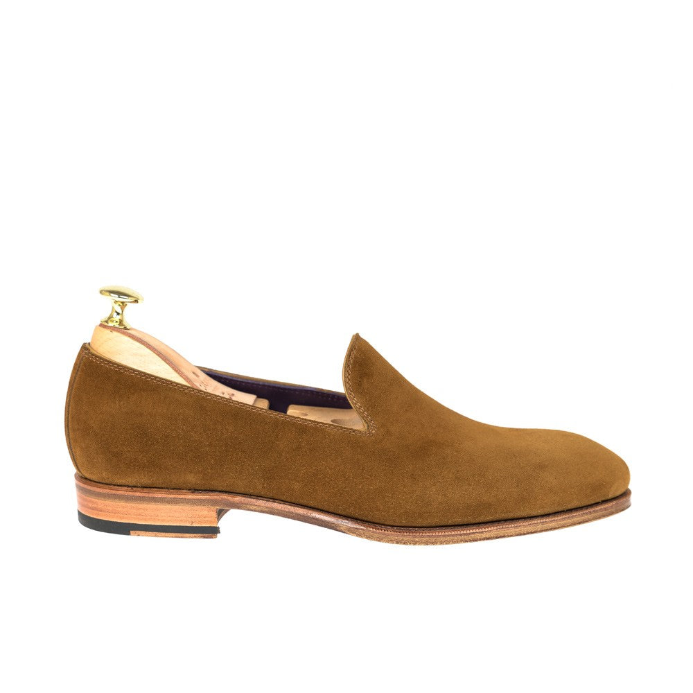 Carmina Suede Slippers