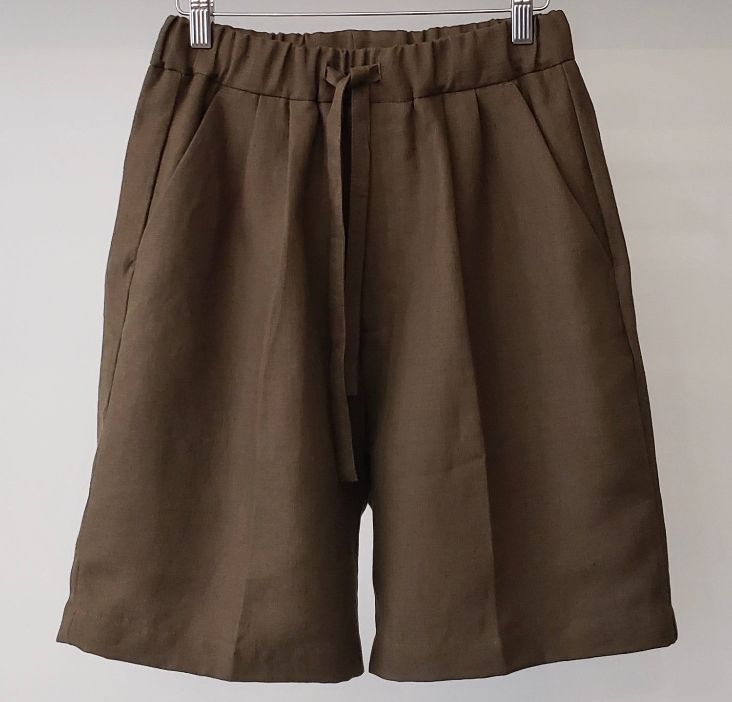 Informale X The Bloke Linen Drawstring Shorts