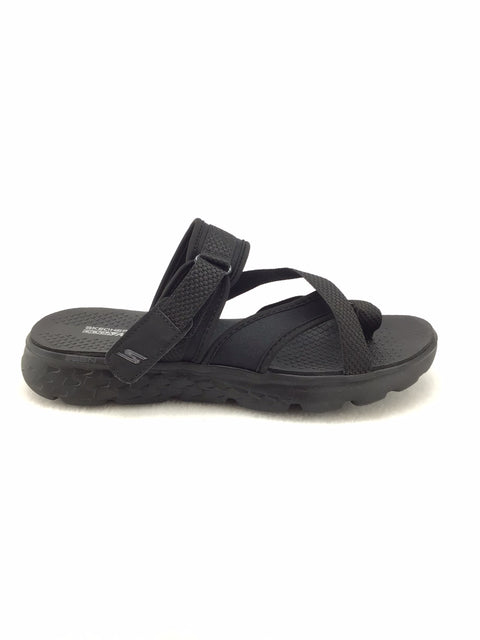 Skechers Goga Max Sandals Size 8