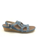 Earth Ficus Leo Wedge Sandals Size 7M