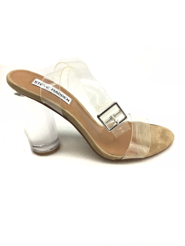 Steve Madden Clearer Sandals Size 7M