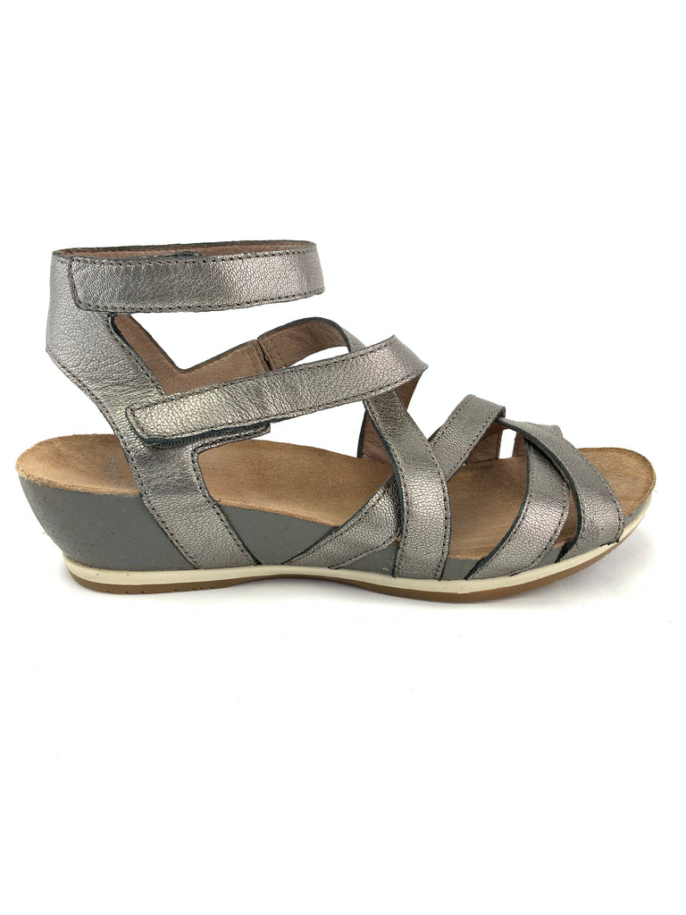 Dansko Strappy Wedge Sandals Size Euro 38