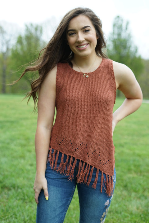 Rusty Sweater Tank