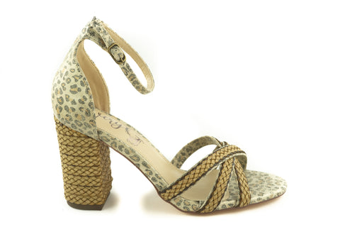 Very G Camel Slither Heels