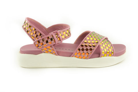Katy Perry Pilly-Iridescent Woven Sandal