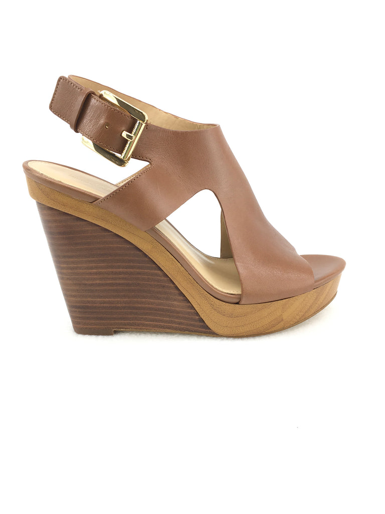 Michael Kors Wedge Sandals Size 7.5M