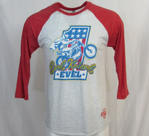 Evel Knievel 1/2 Sleeve Red