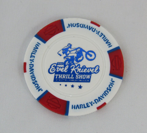 Evel Knievel Museum Poker Chip