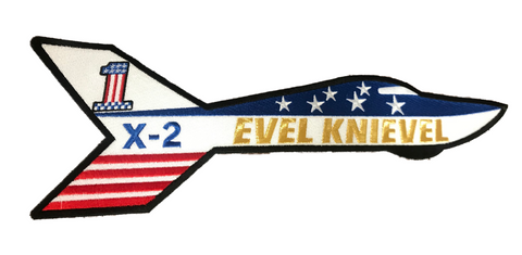 Evel Knievel Embroidery Skycycle X-2 Patch