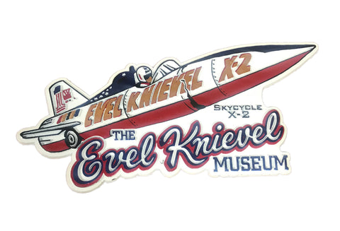 Evel Knievel Museum Magnet - Skycycle X-2