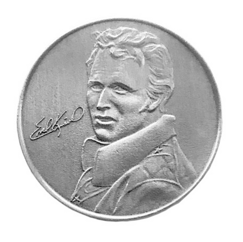 The Last Of The Gladiators Evel Knievel Coin