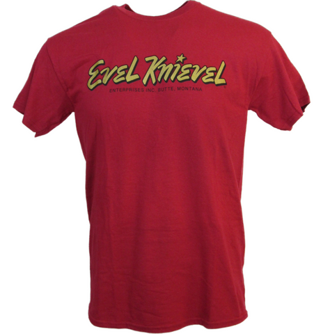 Evel Knievel Enterprises Red