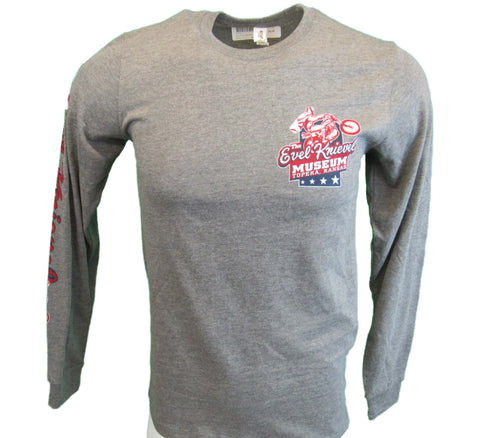 Grey Evel Knievel Museum Long Sleeve