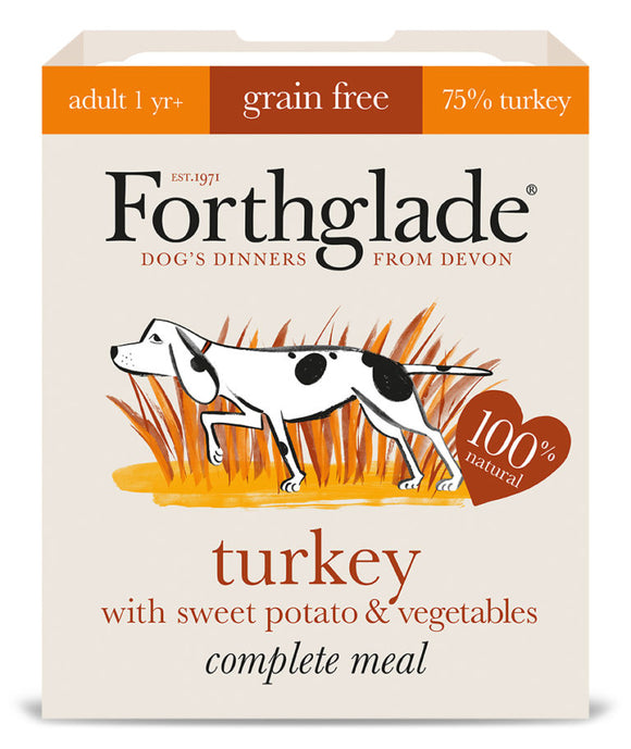 Turkey with sweet potato & vegetables (395g) Adult Dog 1 - 7 years
