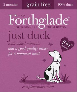 Forthglade Just Duck 395g - Epetshopcy