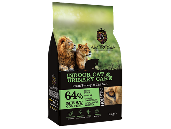 Indoor cats & urinary care- Fresh Turkey & Chicken - Epetshopcy
