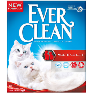 Ever Clean Multiple Cat Litter, 10 Litre - Epetshopcy