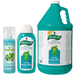 PPP AromaCare Herbal Mint  Shampoo and  Cooling Spray - Epetshopcy