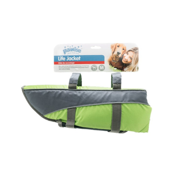 Pawise-Life Jacket -Medium- Green