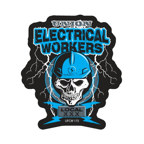 Skull Electric – Blue