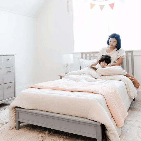 Motherly by Storkcraft Timeless 5-in-1 Convertible Mini Crib with Bonus Mattress - Motherly