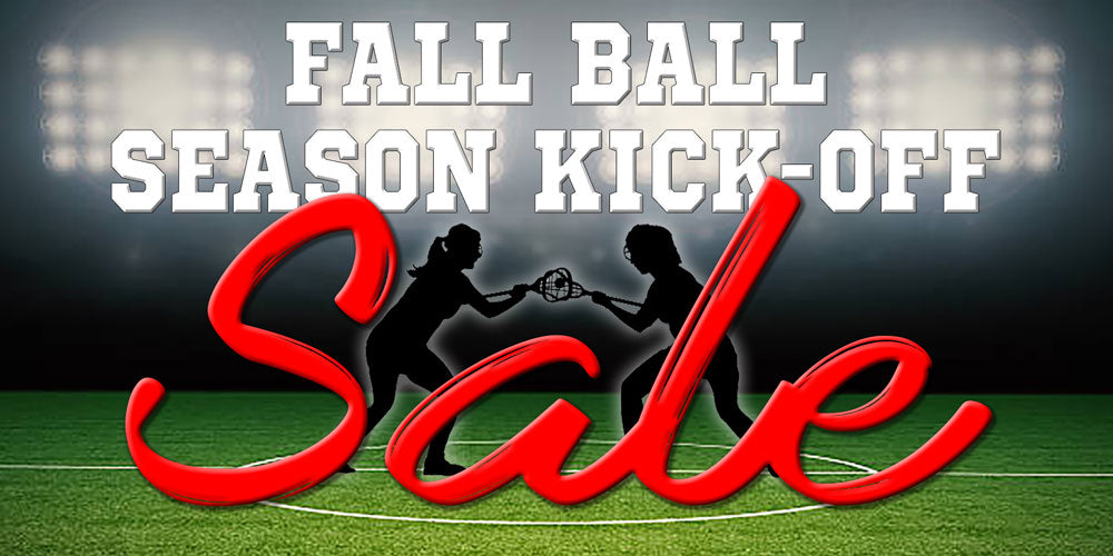 Fall Ball Season Kick-Off Sale from Lacrosse Fanatic