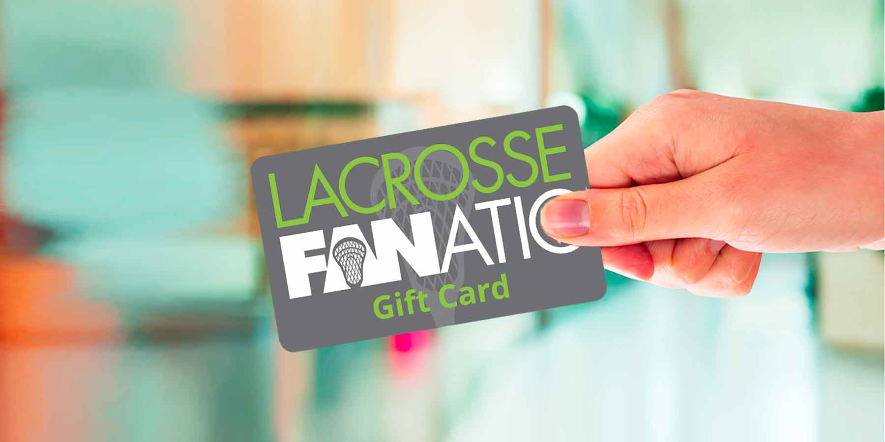 Free Lax Fan Gift Cards with purchase of select items.
