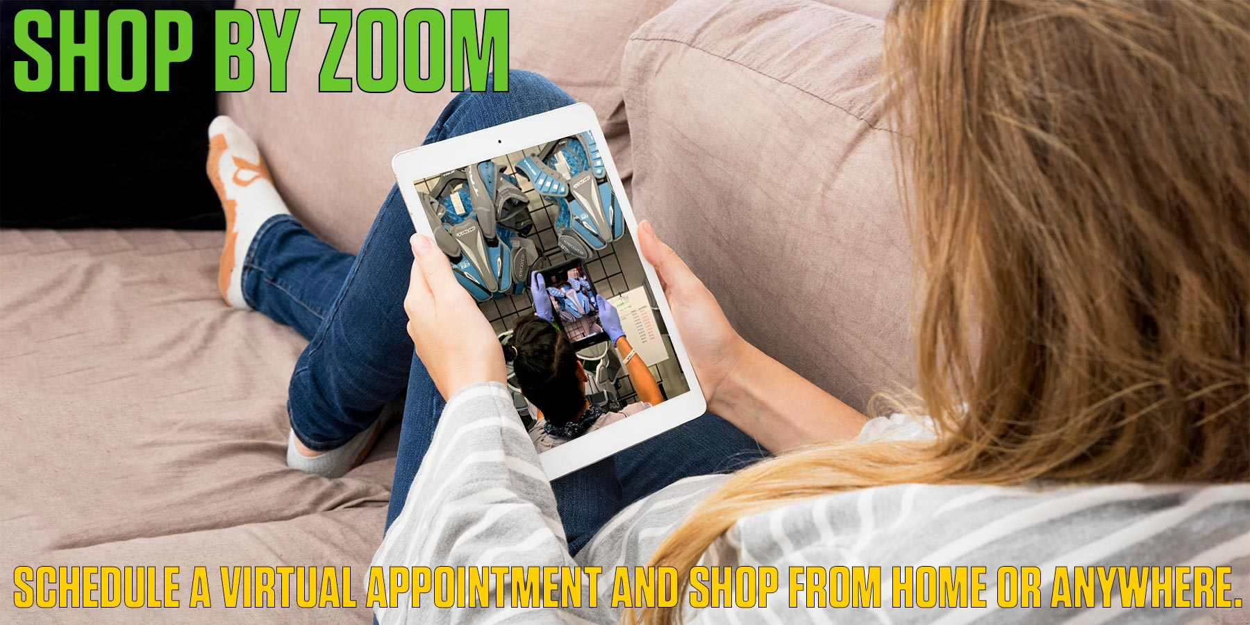 Shop by Zoom with our FREE Virtual Shopping Appointments