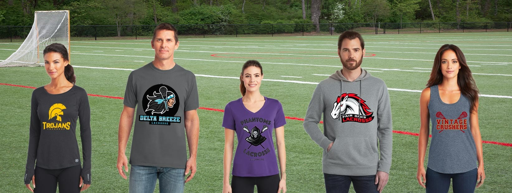 Spirit wear and team stores from Lacrosse Fanatic