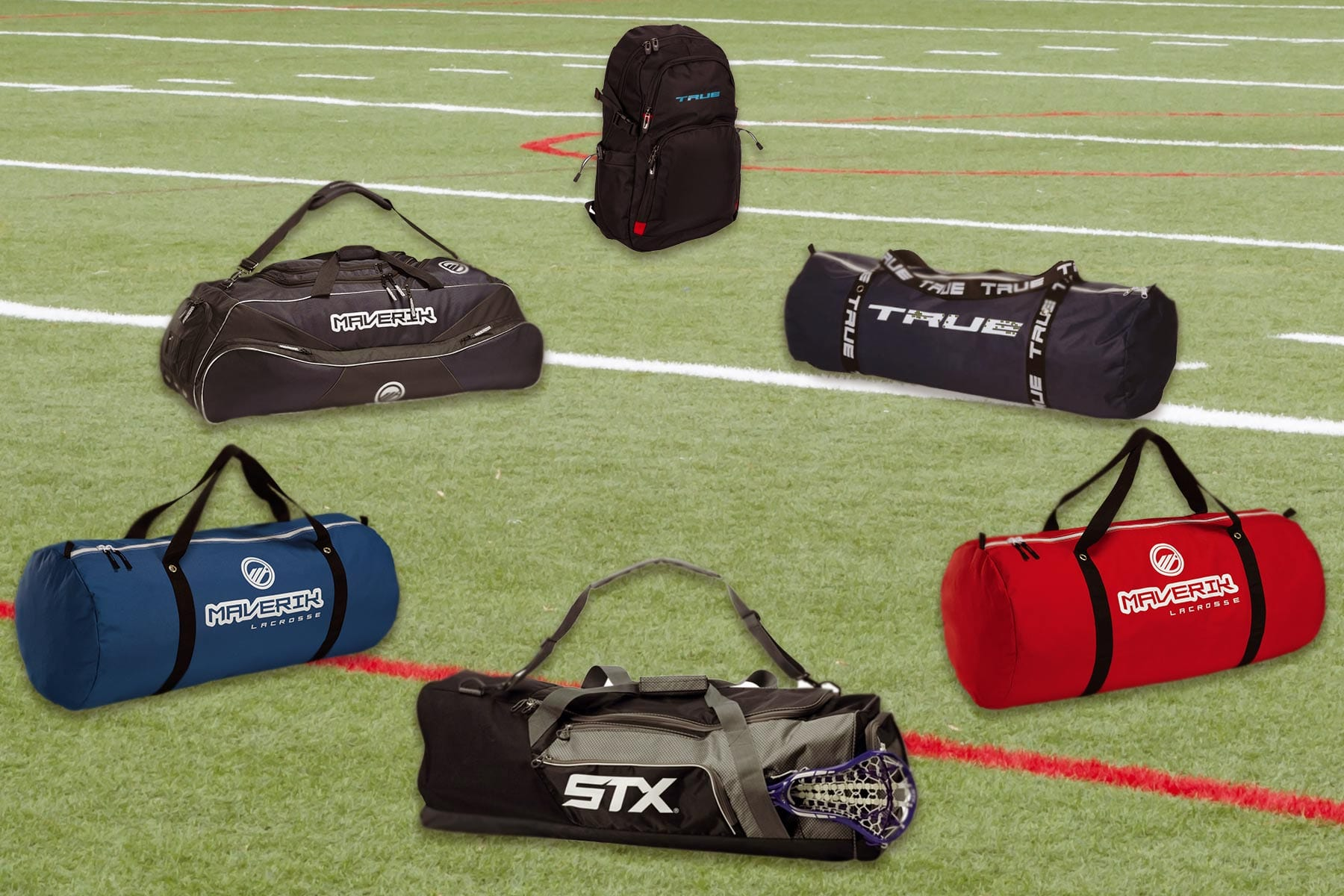 Equipment bags for the whole team from Lacrosse Fanatic