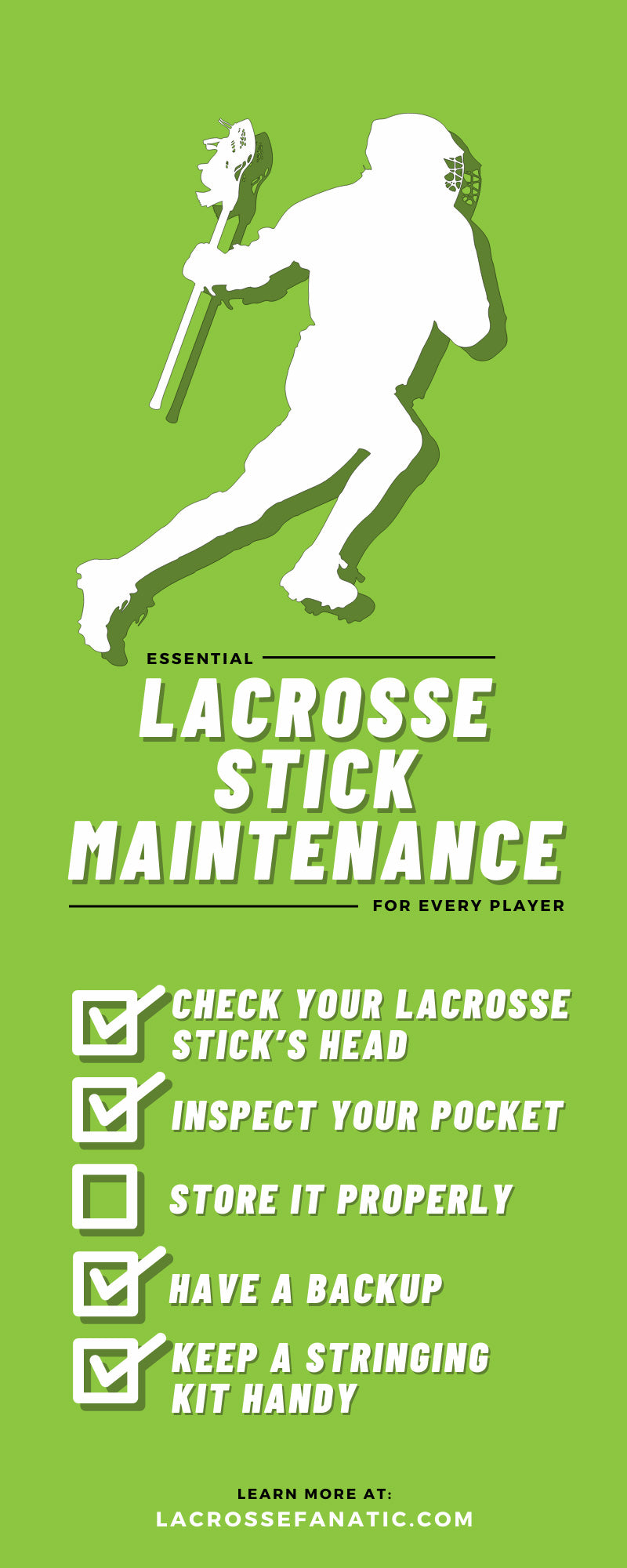 Essential Lacrosse Stick Maintenance for Every Player