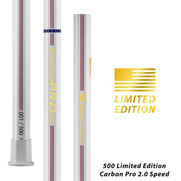 2020 Limited Edition USA ECD Carbon 2.0 Pro Speed Lacrosse Shaft