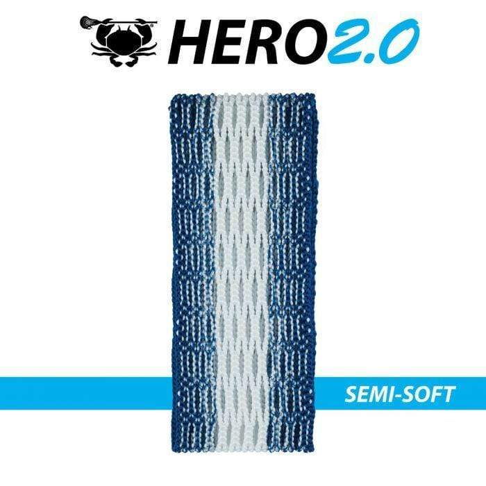 ECD Hero 2.0 Zone Fade Semi-Soft Men's Lacrosse Mesh
