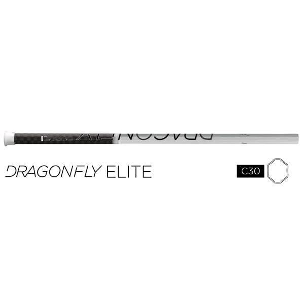 Epoch Dragonfly Elite c30-iQ5 Attack/Midfield LE White Lacrosse Shaft