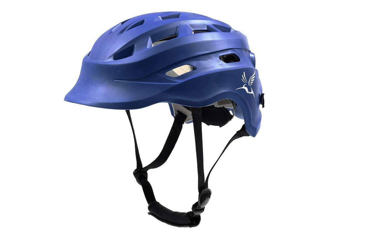 Hummingbird Women's Lacrosse Helmet - Royal