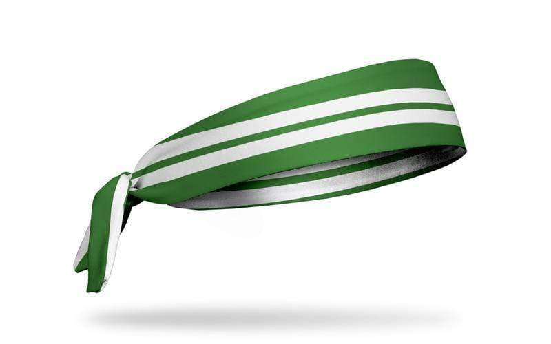 JUNK Brands Varsity Stripe (Green) Flex Tie Headband
