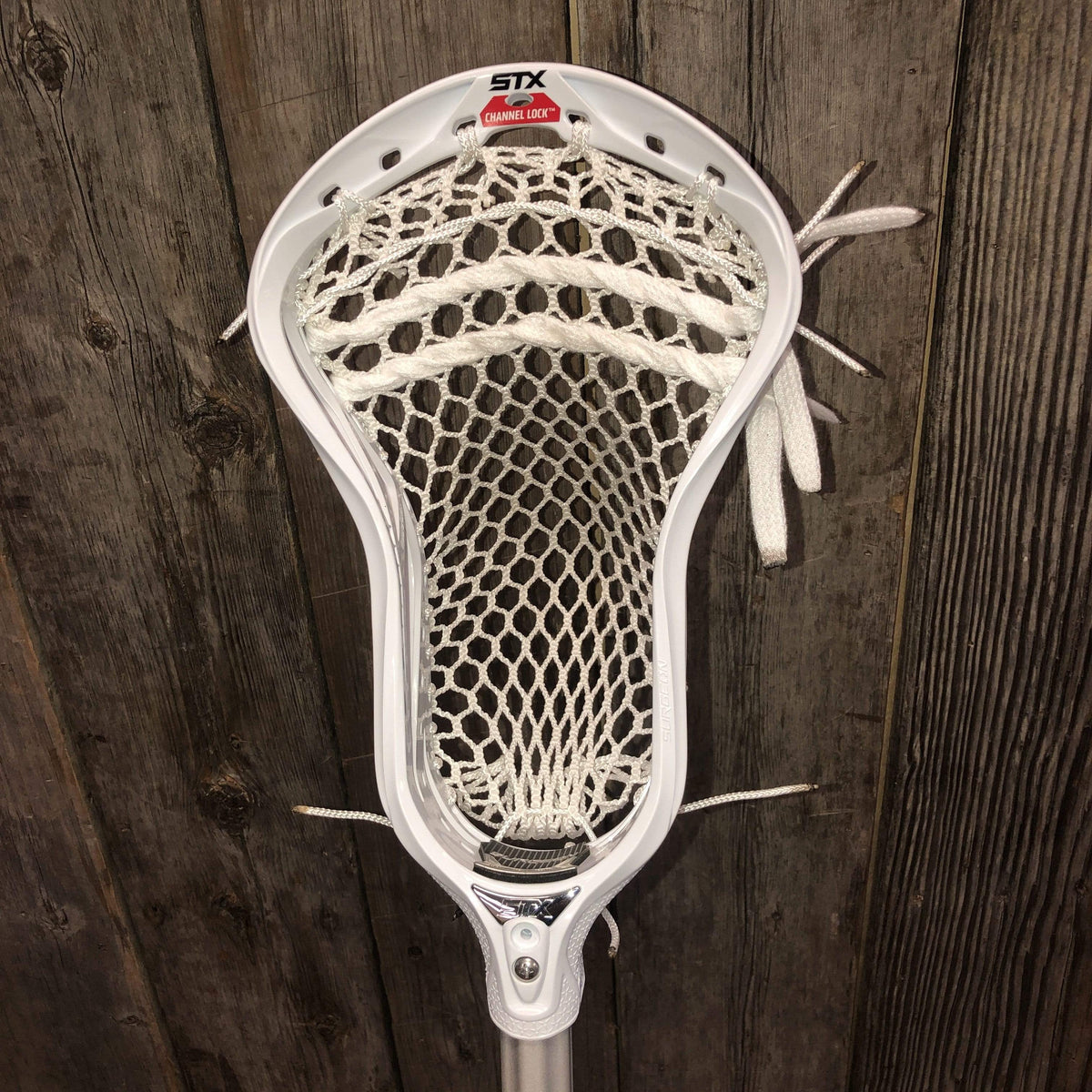 Complete Lacrosse Stick STX Surgeon Scandium with a Custom Strung STX Surgeon 700 Head