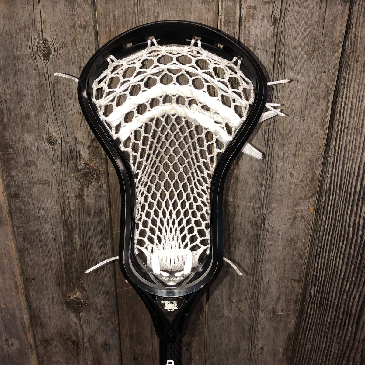 Custom Complete Lacrosse Stick STX Stallion SC-Ti OCS with a Custom Strung ECD Rebel Head