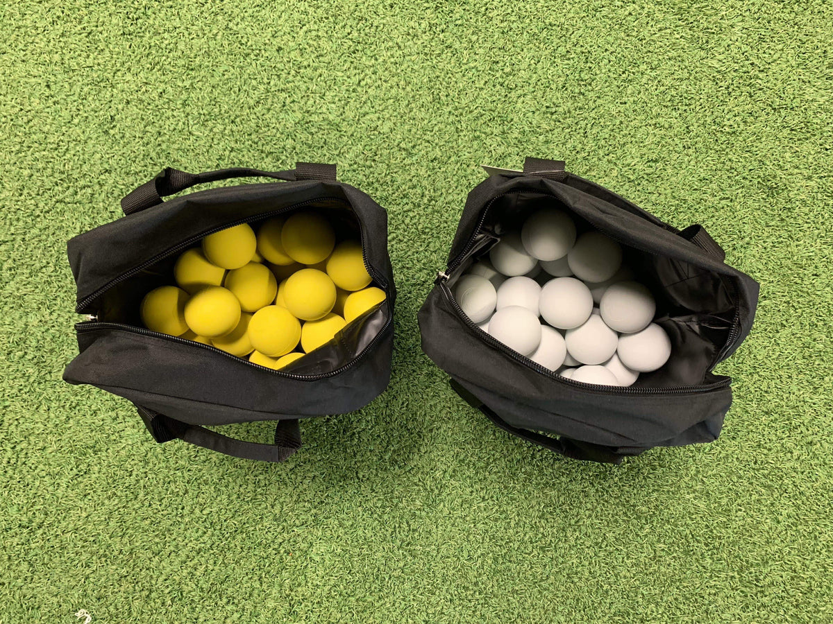Lacrosse Ball Bag WITH 4 Dozen Balls