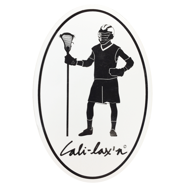 Lacrosse Fanatic Lacrosse Accessories Cali-Lax Guy Lax Guy Lacrosse Stickers from Lacrosse Fanatic