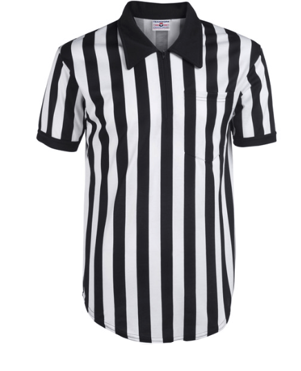 Poly Cotton Blend Referee Shirt-Men's