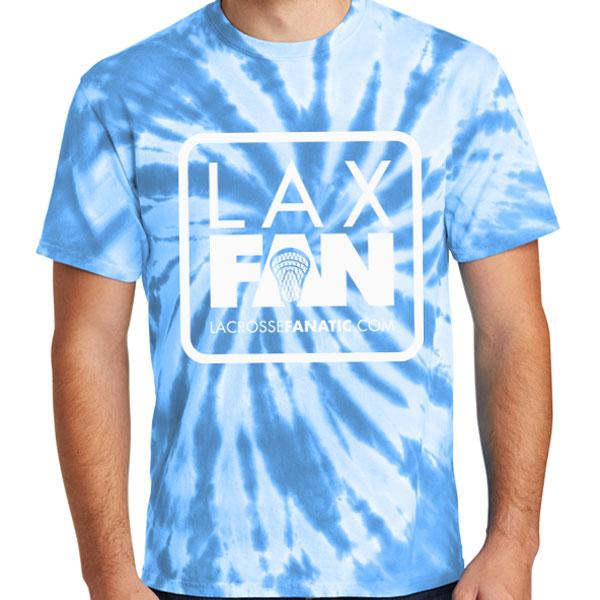 Lax Fan Logo Tie-Dye T-Shirt