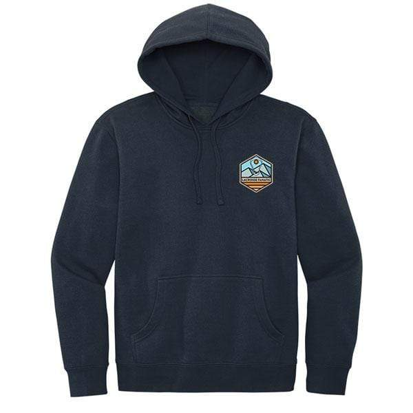 Lacrosse Fanatic Shirts Lax Fan Original Hoodie - Navy with Catch Some Rays Graphic from Lacrosse Fanatic