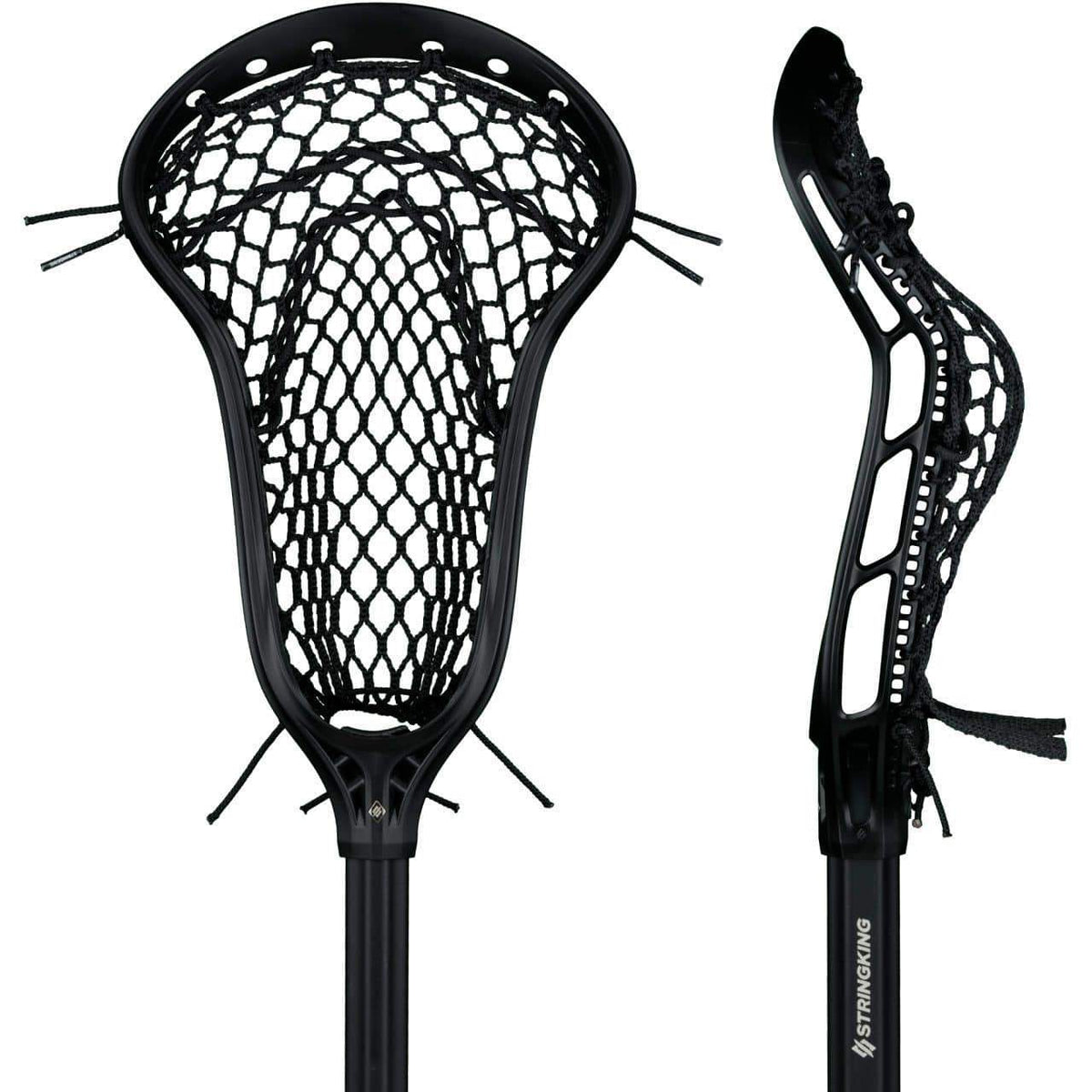 StringKing Complete 2 Pro Metal Defense Women's Lacrosse Stick with Metal 2 Shaft