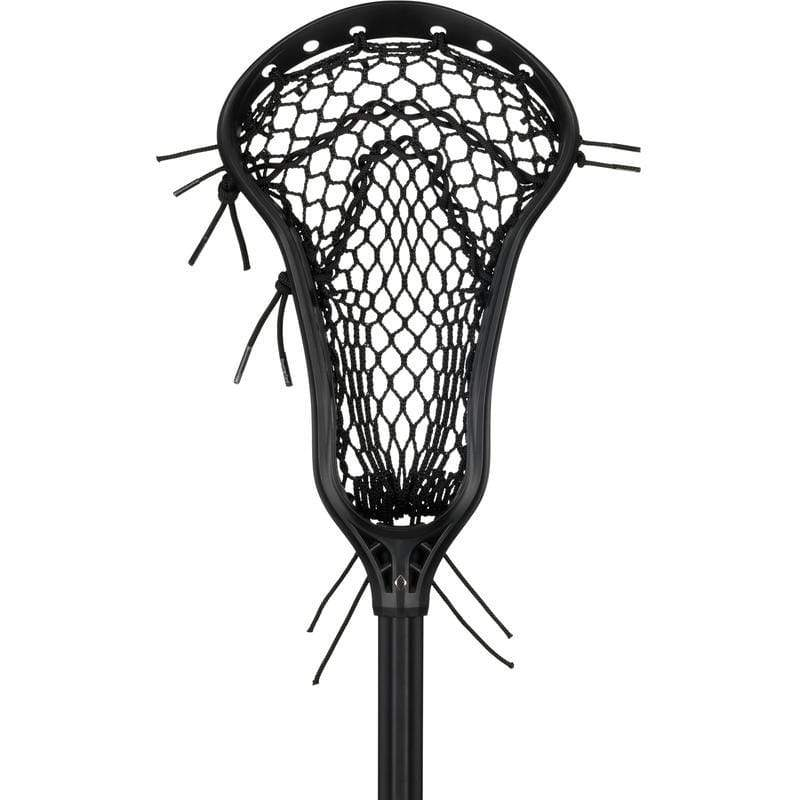 STRINGKING Complete Sticks Black/Black StringKing Complete 2 Pro Metal Midfield Women's Lacrosse Stick with Metal 3 Pro Shaft Type 4 mesh from Lacrosse Fanatic