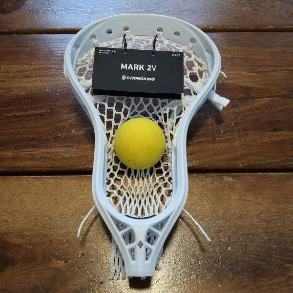 StringKing Mark 2V Midfield Lax Fan Strung Men's Lacrosse Head