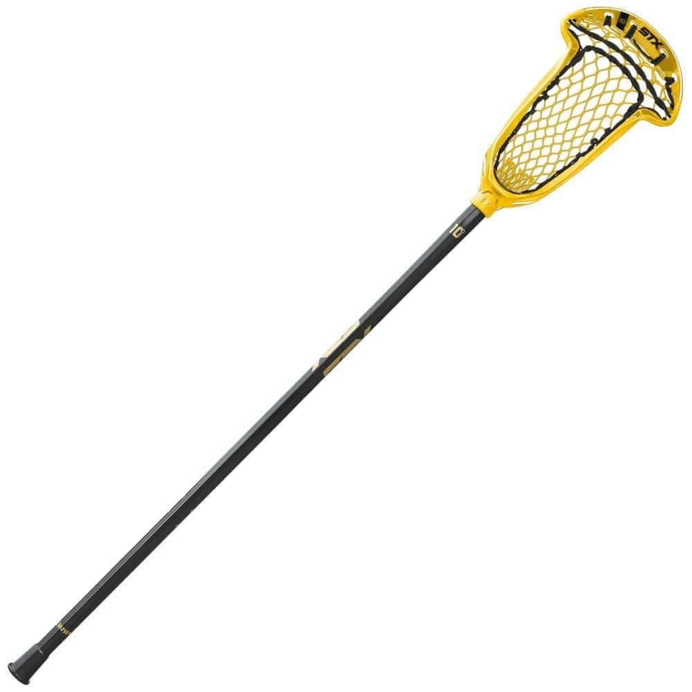 STX Axxis 10 degree Complete Women's Lacrosse Stick for Draw Specialists