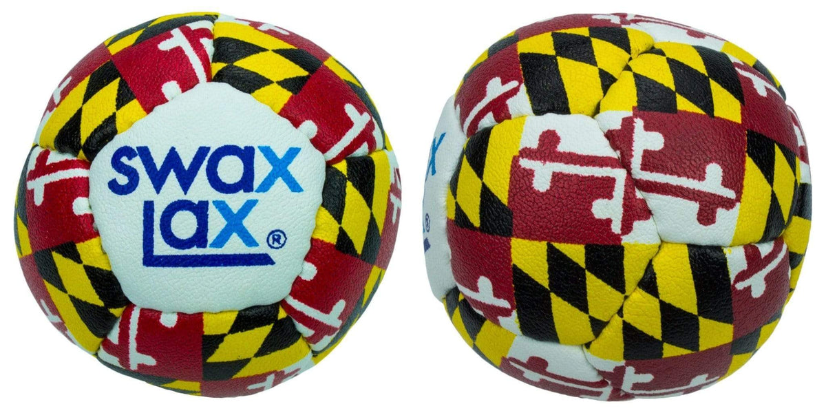 Swax Lax Maryland Flag Lacrosse Training Balls