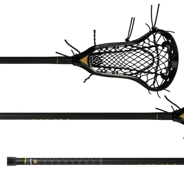 TRUE Complete Sticks Black True LYNX Complete Women's Lacrosse Stick with Ignition Runner from Lacrosse Fanatic